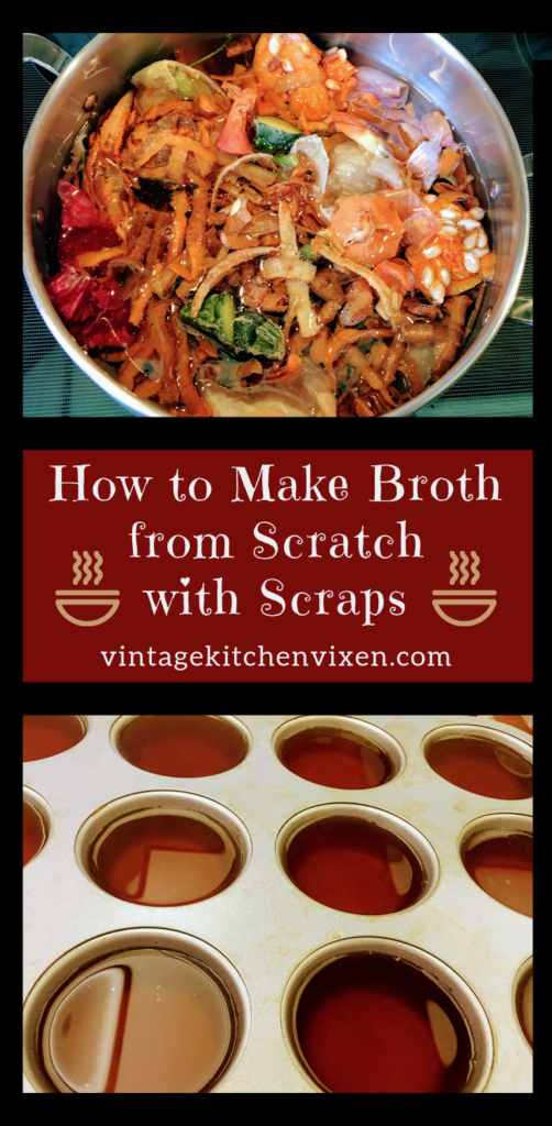 how to be frugal in the kitchen: make broth from scratch
