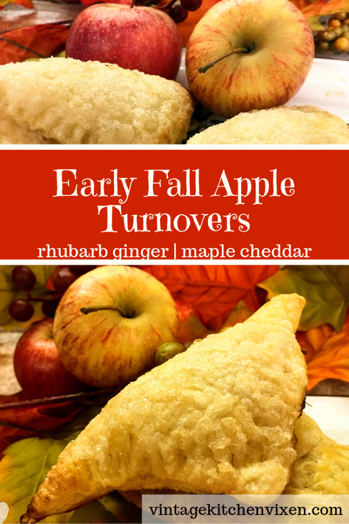 early fall apple turnovers pinterest pin