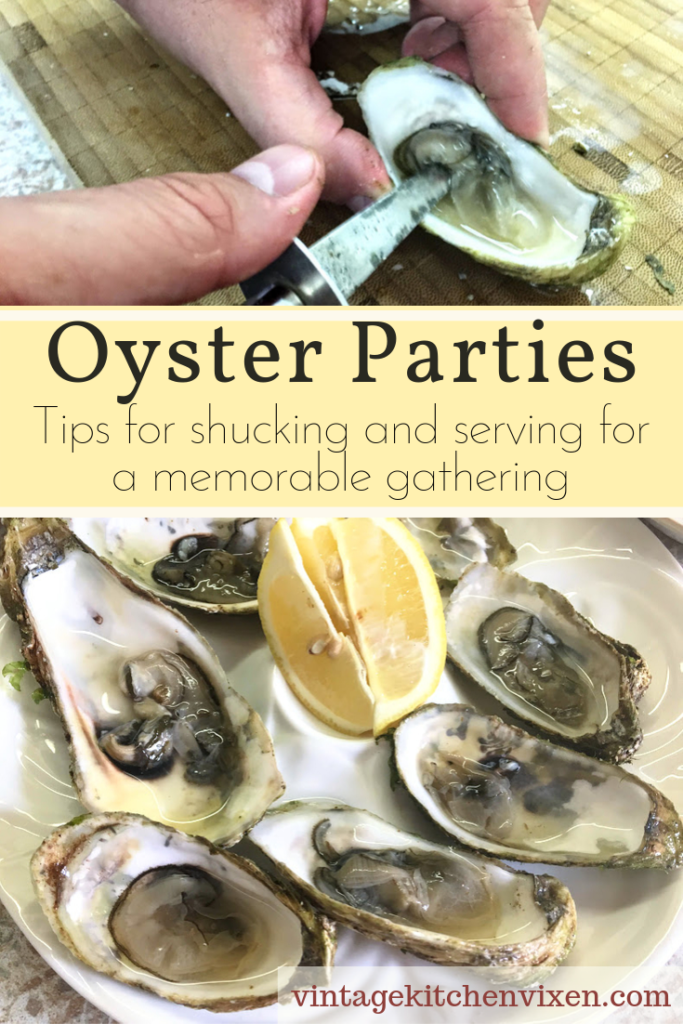 oyster party pin