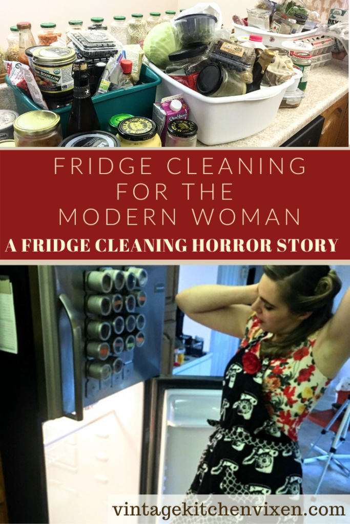 fridge cleaning for the modern woman pin