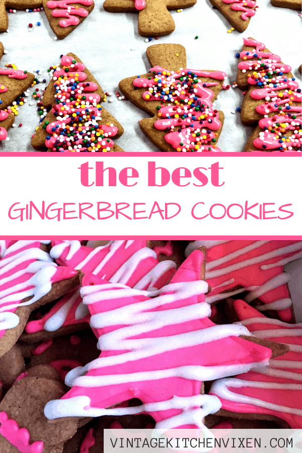 the best gingerbread cookies pin