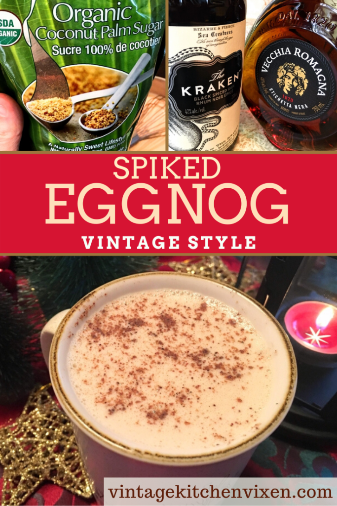spiked eggnog pin