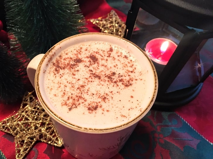 spiked eggnog for the holidays