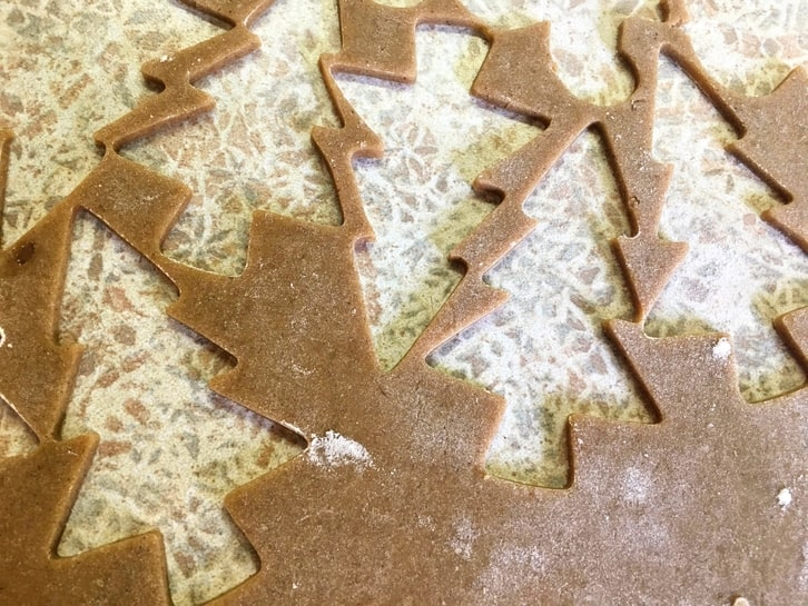 gingerbread tree cut outs