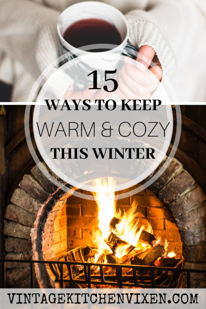 ways to keep warm and cozy pin