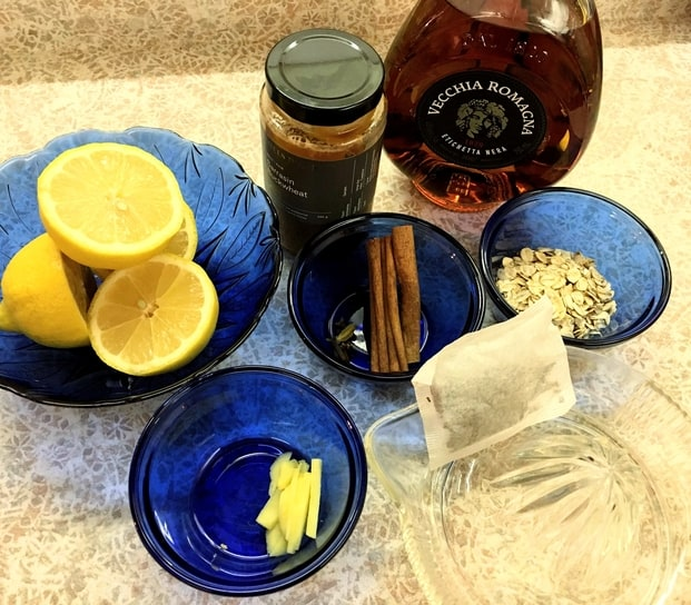 ingredients for the easy elixirs