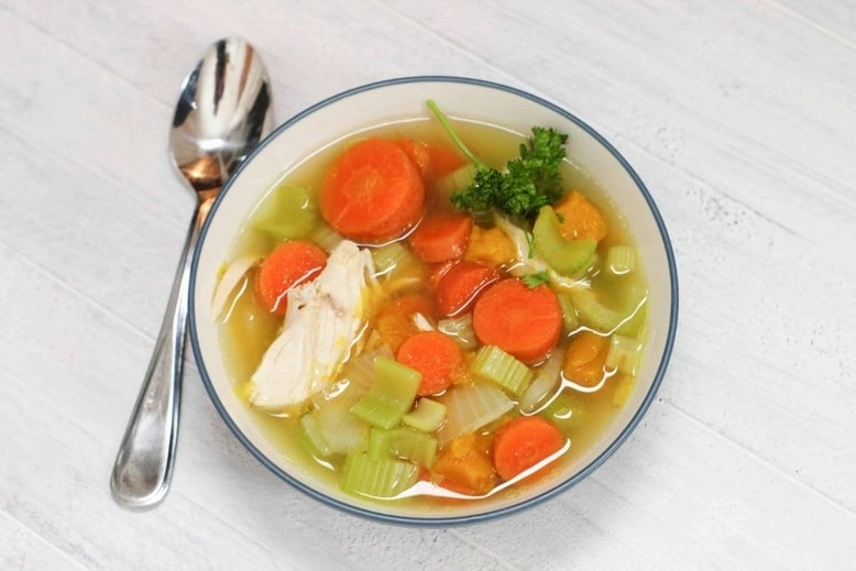 Chicken soup for a soup swap party
