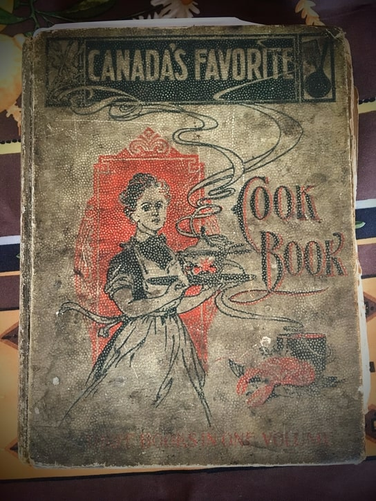 Canada's Favorite Cook Book antique copy