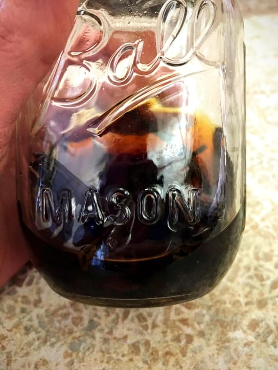 getting low on homemade vanilla extract